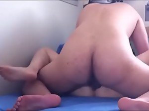 Cute Asian Chinese girl pounded by her..