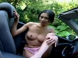 skinny Taiwanese of dreams - with car -..